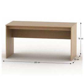Íróasztal, bükk, TEMPO ASISTENT NEW 020 PI