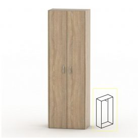 Akasztós szekrény lakattal, tölgy sonoma, TEMPO ASISTENT NEW 006