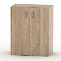 Alacsony szekrény + zár, sonoma tölgyfa, TEMPO ASISTENT NEW 011