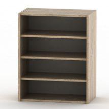 Alacsony szekrény, sonoma tölgyfa, TEMPO ASISTENT NEW 013