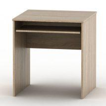 Kihúzható íróasztal, sonoma tölgyfa, TEMPO ASISTENT NEW 023