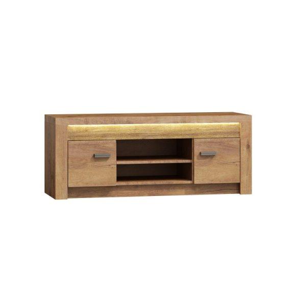 RTV asztal/szekrény, kőris világos, INFINITY I-09