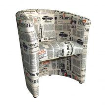 CUBA Fotel, D-8, újságminta