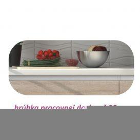 Alsószekrény három fiókkal, tölgy sonoma, LINE