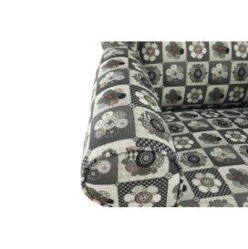 füles fotel, szövet patchwork N1, CHARLOT