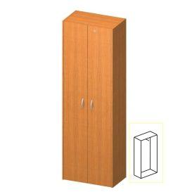 Akasztós szekrény lakattal, cseresznye, TEMPO ASISTENT NEW 006