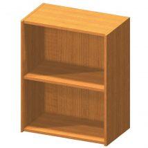 Alacsony polcos szekrény, cseresznye, TEMPO ASISTENT NEW 010