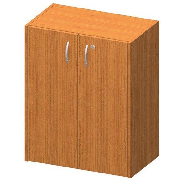 Alacsony szekrény zárral, cseresznye, TEMPO ASISTENT NEW 011