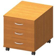 3 fiókos kerekes szekrény, cseresznye, TEMPO ASISTENT NEW 016