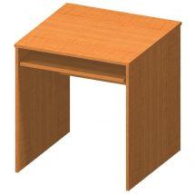 Kihúzható íróasztal, cseresznye, TEMPO ASISTENT NEW 023