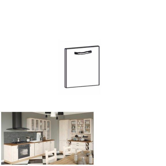 Előlap mosogatógéphez, 59,6x71,3, sosna északi, ROYAL