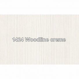 Vitrines szekrény fiókokkal 2W2S, woodline bézs, TIFFY 03