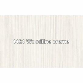 Komód 2d1s fiókkal, DTD laminált, woodline bézs, TIFFY 07