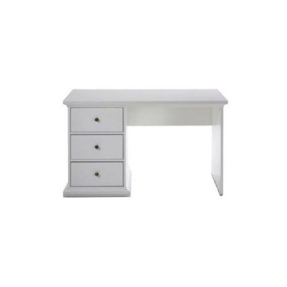 PC asztal, fehér, PARIS