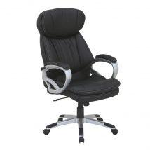 Irodai szék, fekete textilbőr, ROTAR