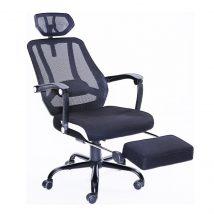 irodai szék,fekete háló/fekete,sidro