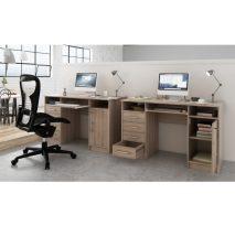 PC asztal, tölgy sonoma, B9 NEW