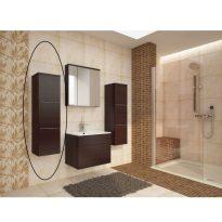 Magas fürdőszoba szekrény, wenge, MASON WE11