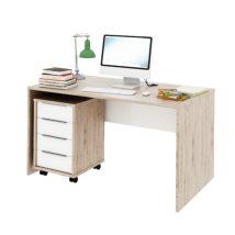 számitógép asztal,san remo/fehér,rioma typ 11