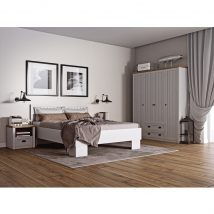 Hálószoba bútor, sosna andersen/tölgy lefkas, PROVANCE