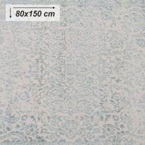 Szőnyeg, bézs/szürke minta, 80x150, ARAGORN