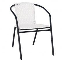 BERGOLA Egymásra rakható szék FEHÉR