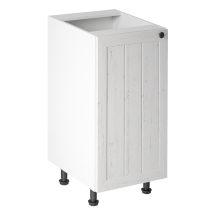 PROVANCE D40 Konyhai alsó szekrény ajtóval és polccal, balos, fenyő ANDERSEN/fehér