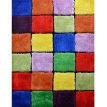 Szőnyeg, piros/zöld/sárga/lila, 120x180, LUDVIG TYP 4