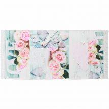 Szőnyeg minta/ rózsák, színes, 120x180, SONIL TYP 2
