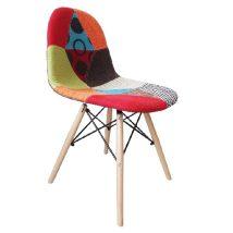 Modern székek  több szinü kivitelben, anyag : fa,szövet , fém, CANDIE 2 NEWTYP2