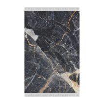 Szőnyeg, minta fekete márvány, 80x150, RENOX TYP 1