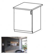 Alsó szekrény, artisan tölgy/szürke matt, balos, LANGEN D60