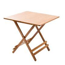 Asztal, natúr bambusz, DENICE