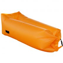 Felfújható babzsák/lazy bag, narancssárga, LEBAG