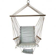 Függő szék, fehér/minta, JAMBI TYP 2
