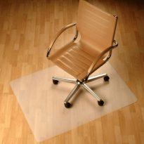 Védőalátét a szék alá, átlátszó, 100x70 cm, 0, 5 mm, ELLIE  NEW TYP 1