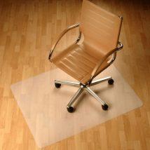 Védőalátét a szék alá, átlátszó, 120x90 cm, 0, 5 mm, ELLIE  NEW TYP 2