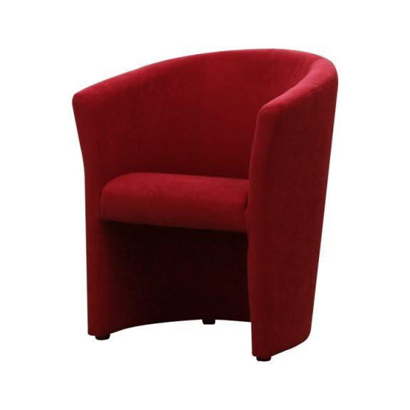 Klub fotel, piros, CUBA