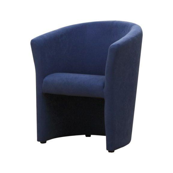 Fotel, kék, CUBA