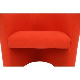 Fotel, narancssárga, CUBA