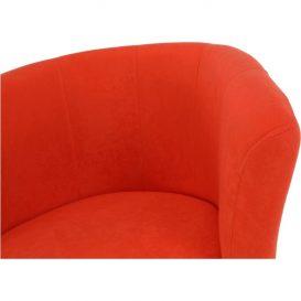 Klub fotel, narancssárga, CUBA