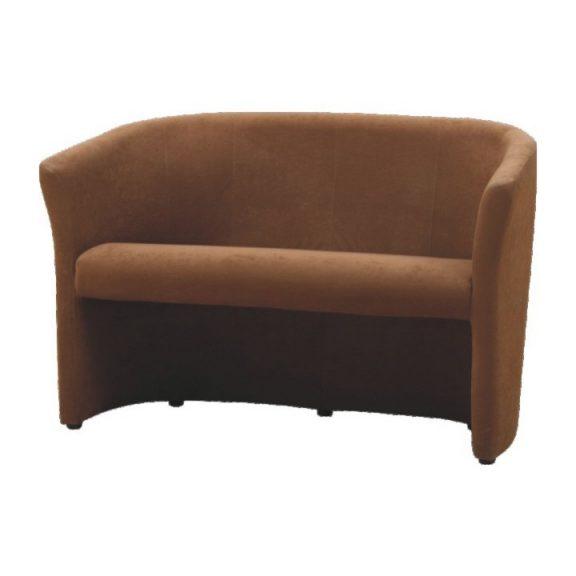 Klub dupla fotel, barna, CUBA