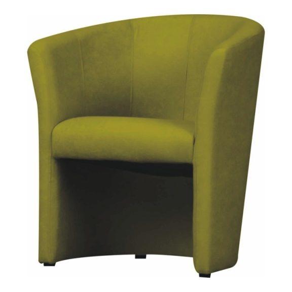 Fotel, zöld, CUBA