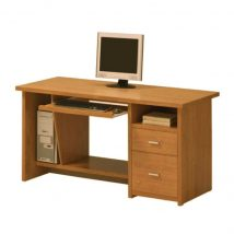 Íróasztal, cseresznye, OSCAR PC1