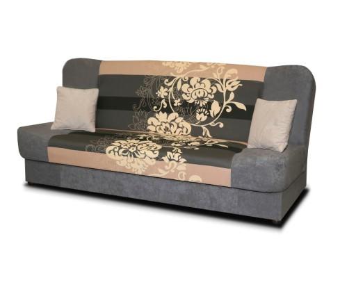 Nyitható kanapé szürke-drap színben. Jas nyitható kanapé | Bútorpiac